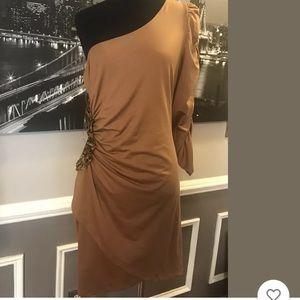 MAKE AN OFFER‼️Marysol One Shoulder Dress Jrs M